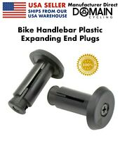 Bike Handlebar End Plugs Screw Compression Adjustable Expanding Bicycle Bar End