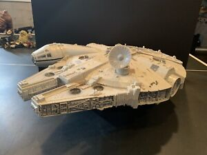 Star Wars POTF Millennium Falcon 100% Complete Working Electronics