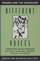 Different Voices : Women and the Holocaust (1993, Paperback)