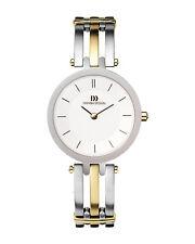 Danish Design IV65Q585 White Dial Two Tone Titanium Quartz Classic Women's Watch