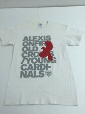 Alexisonfire Old Crows Young Cardinals T-Shirt, White, Men's Size S