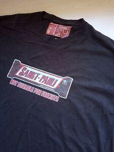 Mens St Pauli Sankt Pauli Brown Antifascist T Shirt Size XL