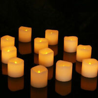 48PCS Flameless Votive Candles Battery Operated Flickering LED Tea Light Candle
