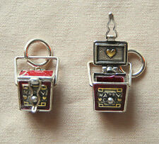 New, enameled BRIGHTON 'China Tale' CHINESE TAKE-OUT BOX charm  FREE SHIPPING !