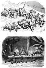 Gustave Dore gigantón Pantagruel 115 A4 Foto impresión