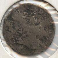 Denmark 1695 Coin - 8 Skilling - AZ220