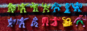Vintage Matchbox Monster In My Pocket Action Figure Lot Of 14! Some Rare!  MIMP