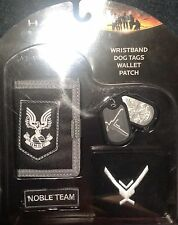Halo Wallet Patch Dog tags Wristband
