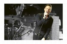 BRANDON FLOWERS - THE KILLERS AUTOGRAPHED SIGNED A4 PP POSTER PHOTO 1