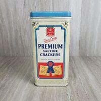 Vintage 1993 Nabisco Collectors Choice Premium Saltine Crackers Tin
