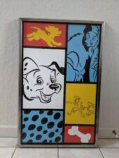 Disney All Stars Movie Resort Prop Rooms 101 Dalmatians Print Framed (#3)