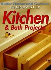 Step-by-Step Kitchen & Bath Projects (Better Homes and Gardens)-ExLibrary