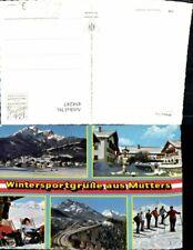 454247,Mutters Totale Skifahrer Europabrücke Mehrbildkarte