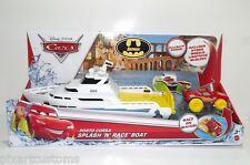 DISNEY CARS CUSTOM PORTO CORSA SPLASH 'N' RACE BOAT BATMAN