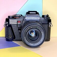 PENTAX PROGRAM A 35mm SLR FILM CAMERA + 28mm F2.8 & Takumar A 28-80mm Lenses