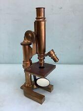 E.Leitz Wetzlar Precision Microscope Brass No. 64130