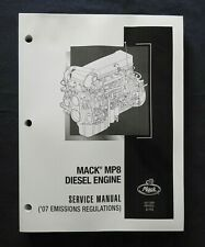 "2007-2010 GENUINE MACK SEMI TRUCK ""MP8 DIESEL ENGINE"" SERVICE REPAIR MANUAL"