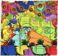 MR CLEVER ART SUPER GIRL BONDAGE pop art street art urban graffiti luxury french