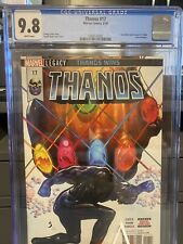 THANOS #17 CGC 9.8 HULK ANNUAL COVER HOMAGE DONNY CATES SILVER SURFER BLACK HOT!