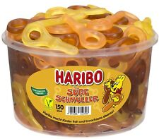 (1000g=4,07�'�) Haribo Sü�Ÿe Schnuller Cola Orange Zitrone Fruchtgummi - 150 Stück