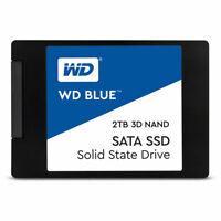 """WD 2TB Blue 3D NAND SATA III 2.5"""" Internal SSD - WDS200T2B0A"""
