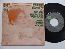 SALLY EATON Once before you go 2C006 92536 M  France Discotheque RTL