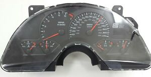 Ford Mustang Shelby Six Instrument Gauge Display Panel Original 2007 2008 2009