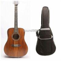 12 Strings Acoustic Guitar Full Koa Abalone Inlay Bone Nut Include Gigbag