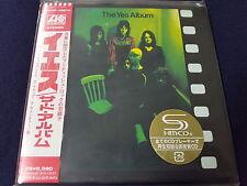 yes - yes album     japan mini LP  SHM  CD