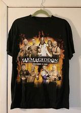 C635- 2006 Armageddon Shirt By WWE Kane John Cena Batista Booker T Undertaker