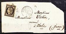 FRANCE - Classique - 1849 - Cérès N° 3 sur grand fragment - TTBE