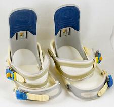 Burton FS Snowboard Bindings Size Large FreeStyle Patent No. 5281889 & 5358170