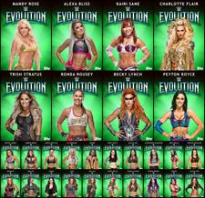 EVOLUTION GREEN 28 CARD SET + AWARD CARD Topps WWE SLAM DIGITAL PRIZE WHEEL