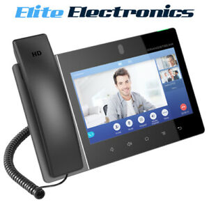 """Grandstream GXV3380 16 Line Android IP Phone 8"""" Colour Display PoE"""