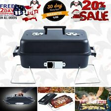 Portable Charcoal Grill With Lid Folding Tabletop BBQ Grill Barbecue Grill