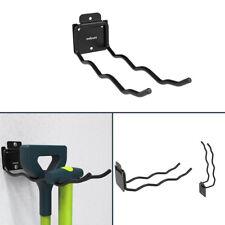 Maidura Gerätehalter Metall klappbar   Gartengeräte Wandhalterung für Besen
