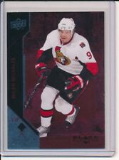 2011/12 UD BLACK DIAMOND MILAN MICHALEK RUBY PARALLEL #/D 69/100 SENATORS
