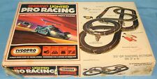 TYCOPRO ELECTRIC RACING SYSTEM SEBRING LIGHTED PRO HO SCALE TRACK SET #8112