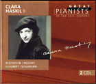 Clara HASKIL 2 GREAT PIANISTS OF THE 20TH CENTURY 2CD Beethoven Mozart Schumann