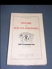 Vaucluse Buis Les Baronnies monographie de 1956 par Dr Claude Bernard illustrée