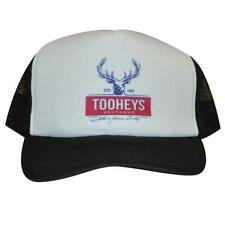 Hat Cap Tooheys Brothers Black mesh back trucker Brewing Beer Aussie New Extra