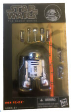 ?Hasbro STAR WARS Black Series: #04 R2-D2 6? MINT FROM FRESH CASE SHIP WORLDWIDE