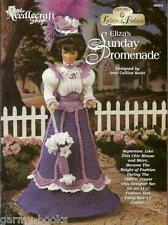 Eliza's Sunday Promenade Ladies of Fashion Crochet Pattern for Barbie Dolls NEW