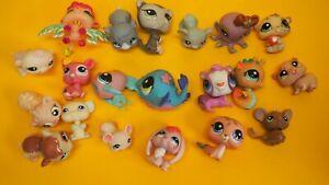 Authentic Littlest Pet Shop  Hasbro Original  LPS  Set  20 pieses