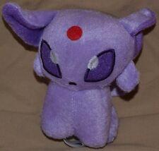 "6"" Espeon # 196 Plush Dolls Toys Stuffed Animals Psychic Eye 2010 Pokemon Center"