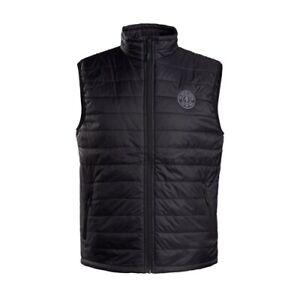 Gold's Gym Puffy Vest Black L Mens Active