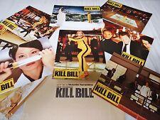 quentin tarantino KILL BILL vol. 1 ! u thurman jeu 12 photos cinema lobby cards