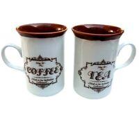 Churchill England China Coffee Tea Mug Fine Staffordshire Earthenware Vintage