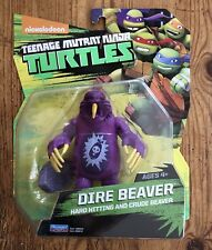 Teenage Mutant Ninja Turtles Dire Beaver Action Figure Free Shipping