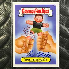 GARBAGE PAIL KIDS 2014 SERIES 2 SPLIT SPENCER 118b JOE SIMKO AUTO autograph W@W!